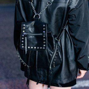 🔥Nwot ZARA Suede Mini Backpack